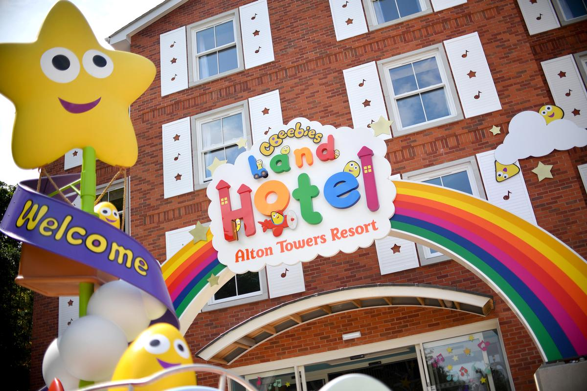 The hotel is the first to have CBeebies theming / Alton Towers