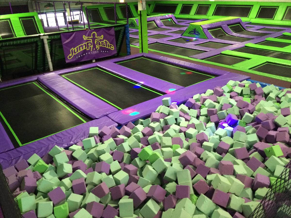 Jumptastic is located in Gloucestershire