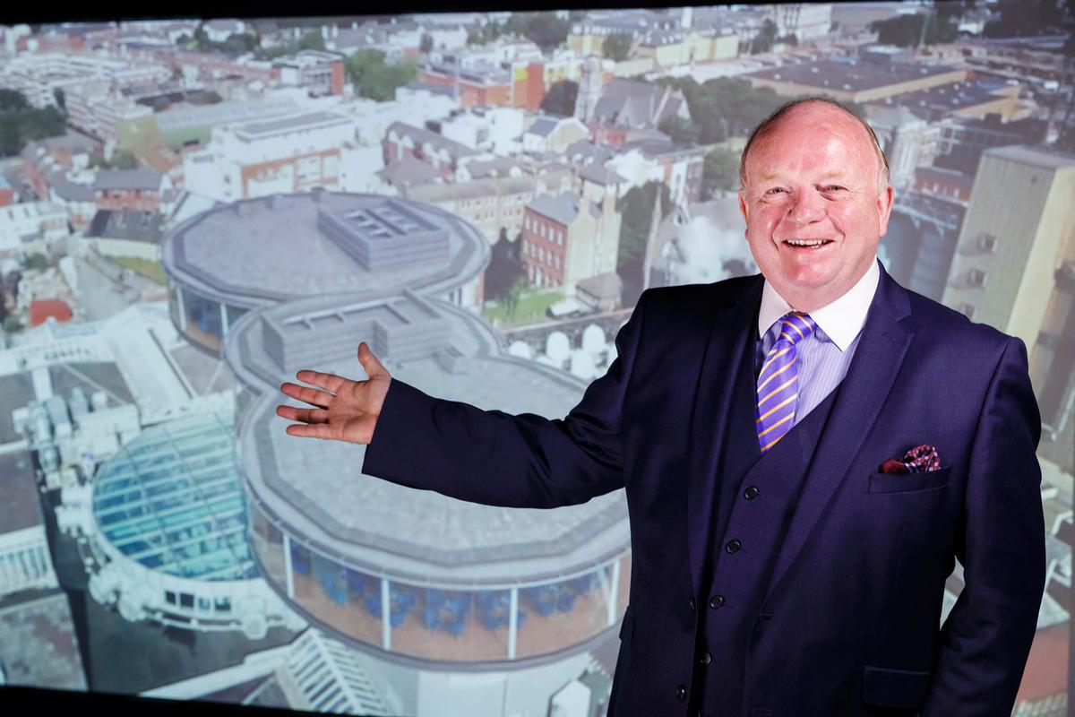 Paul Carty announces the €16m plans / Guinness Storehouse
