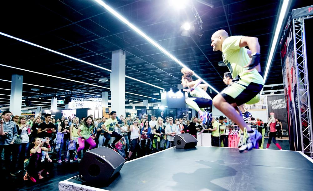 FIBO PASSION is a special area for fitness fans to get involved