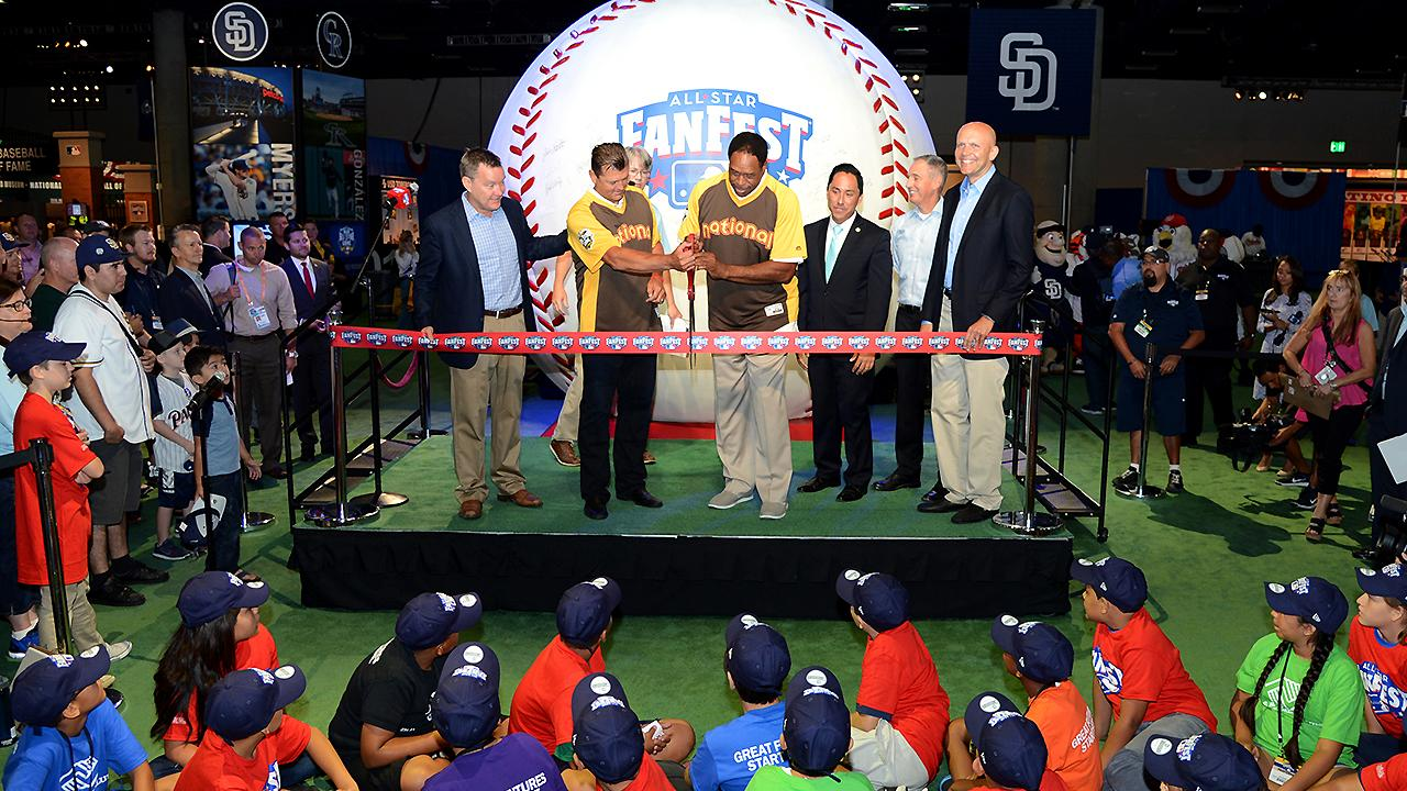 Freeman worked with BaAM on several events such as the MLB FanFest in San Diego / MLB