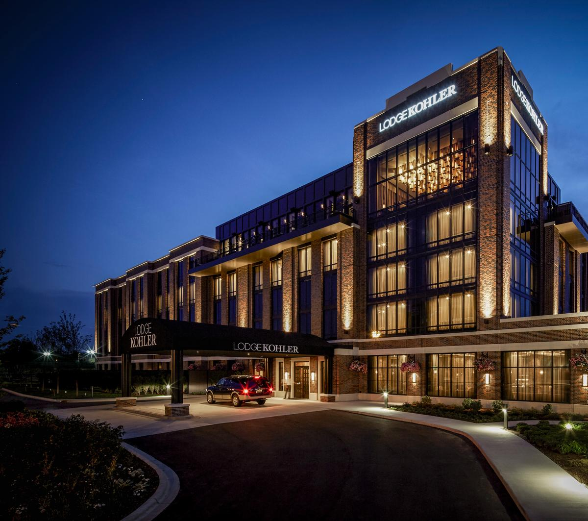 Kohler spa hotel for NFL team's 'Titletown' leisure district opens in Wisconsin