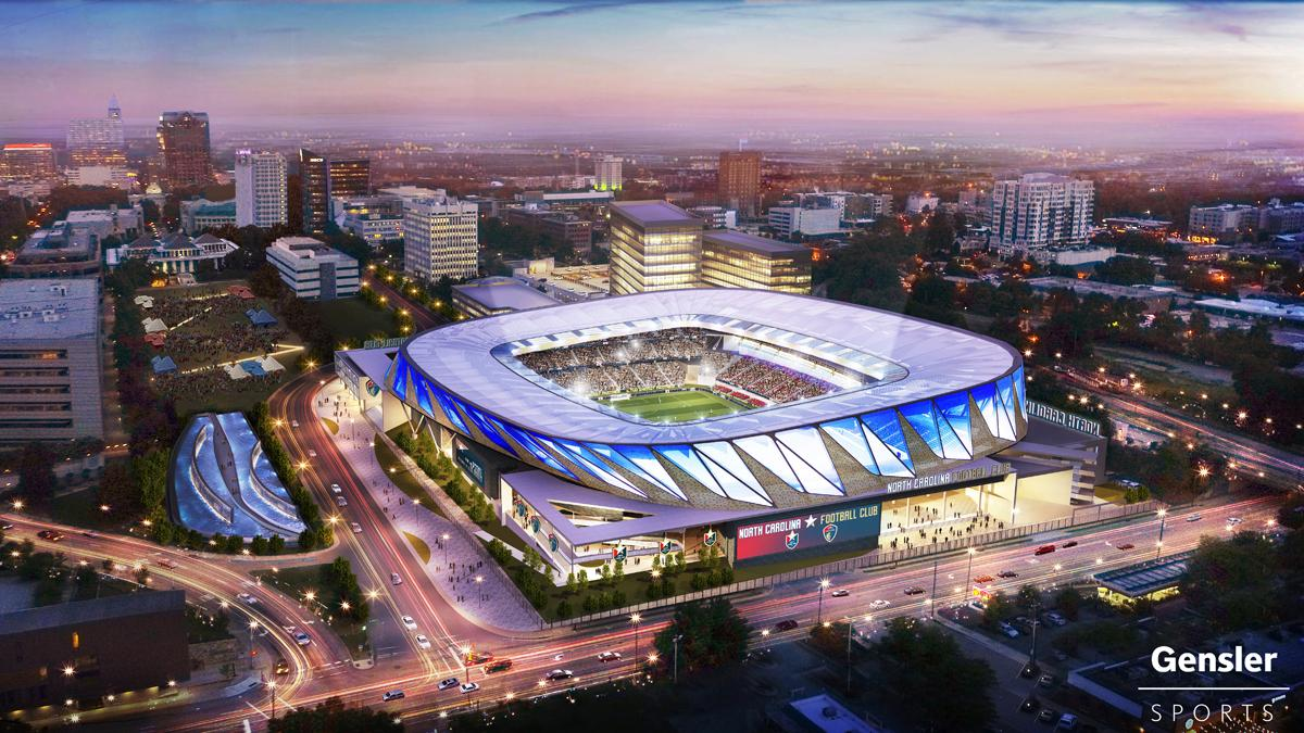 Gensler win another MLS project with North Carolina