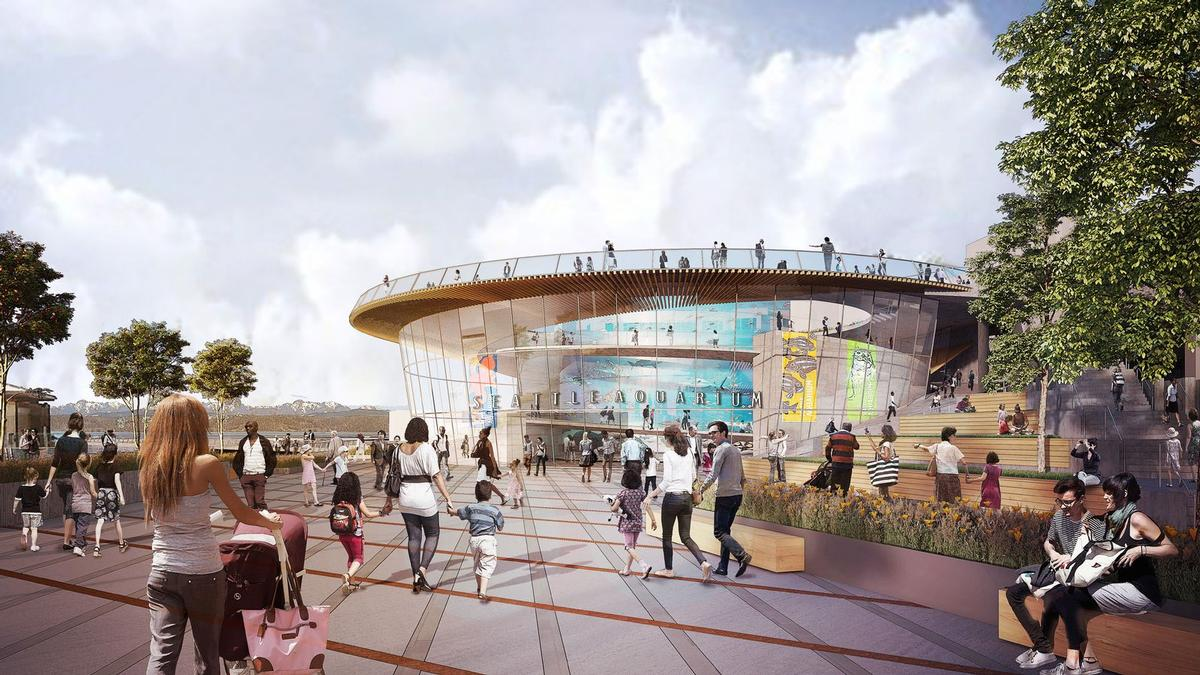 Seattle-based architecture firm LMN are behind the US$100m plans