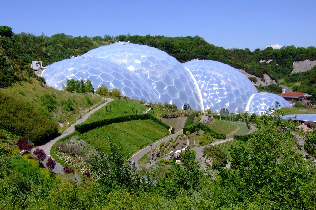In its first 16 years, the Eden Project attracted more than 19 million visitors and generated £1.7bn for the regional economy / Wiki Commons