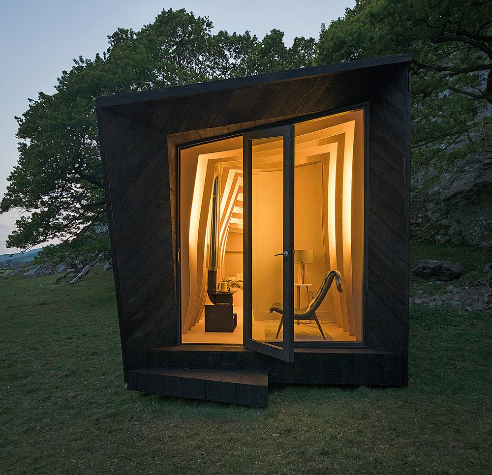 Miller Kendrick's pop up hotel, which opened in Wales this summer