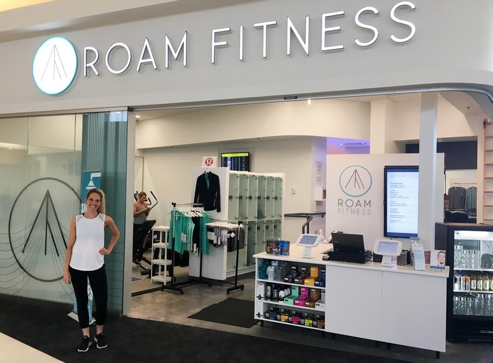 Roam Fitness includes clothing hire