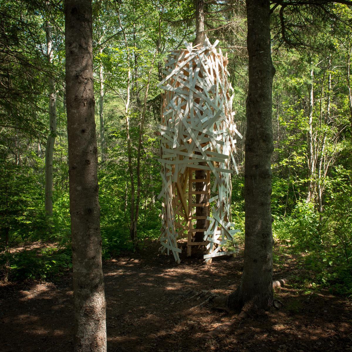 La Chrysalide by landscape architects Gabriel Lacombe and Virginie Roy-Mazoyer / Martin Bond/v2com