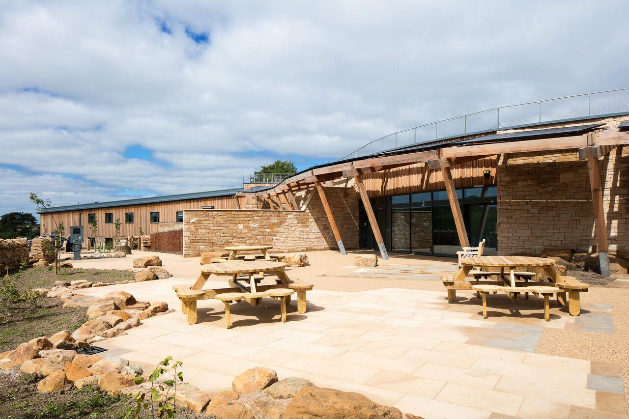 Hadrian wall visitor centre