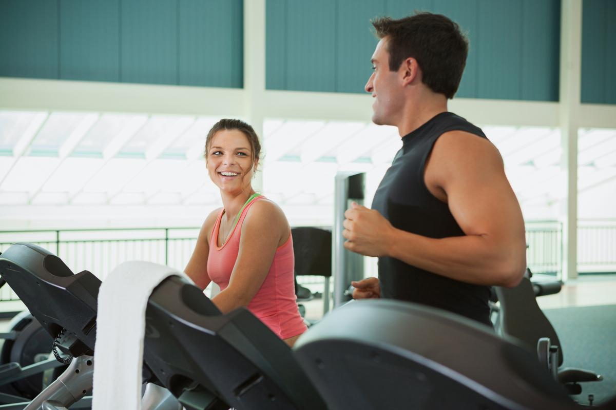 The Mintel report found that a friendly gym environment helped with member retention