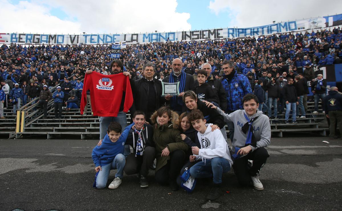 Most of Atalanta's stadium is standing enclosures / IPA/IPA MilestoneMedia/PA Images