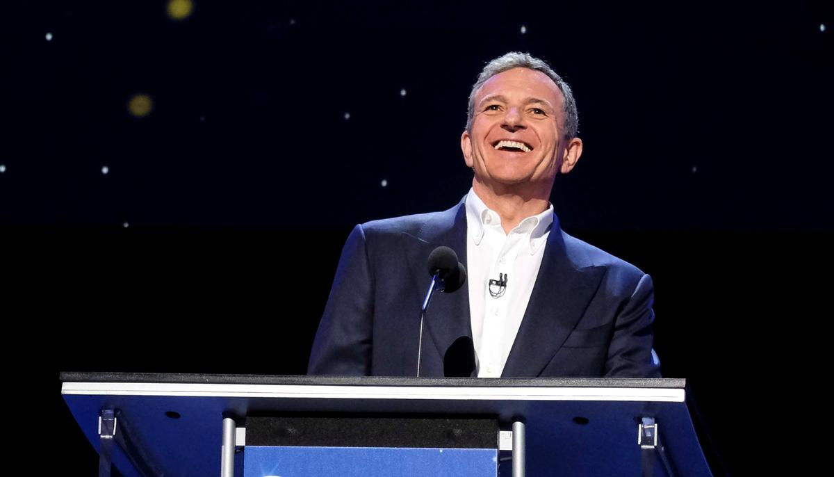 Bob Iger and Disney are looking at China as a key area for significant expansion /  Zhao Hanrong/Xinhua News Agency/PA Images