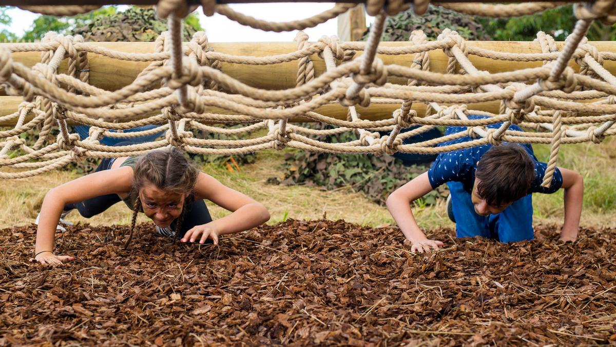 Visitors can take on a number of Bear Grylls-inspired challenges and activities / ZSL