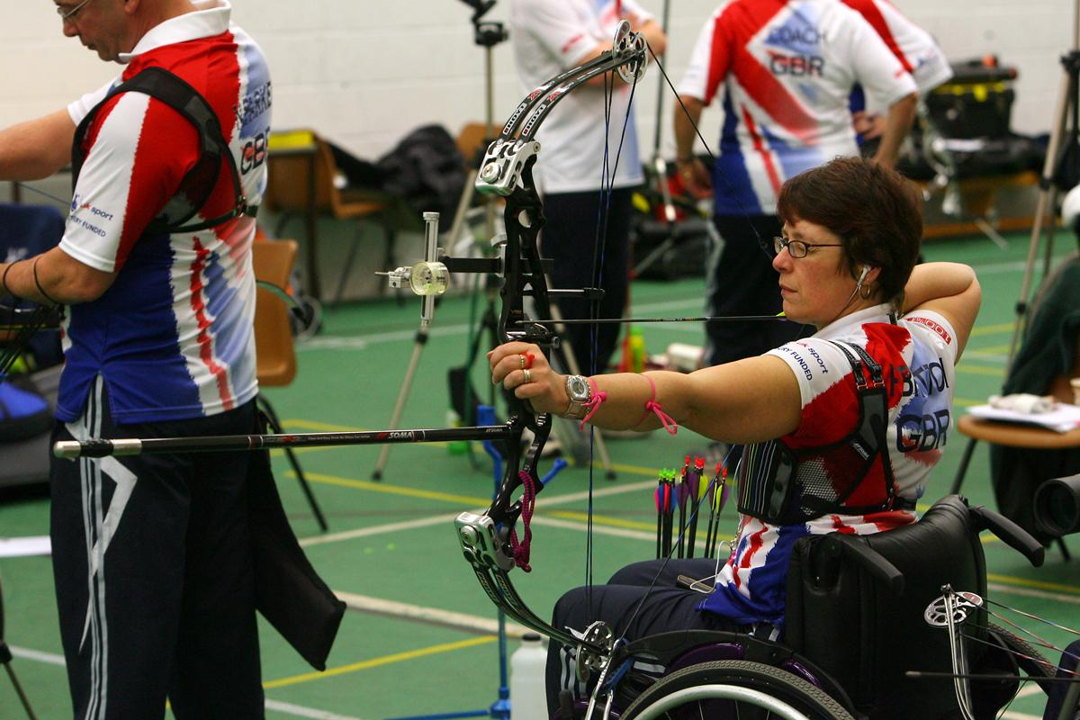 Britton competed at the 2008 Paralympic Games in Beijing / Joe Giddens/EMPICS Sport