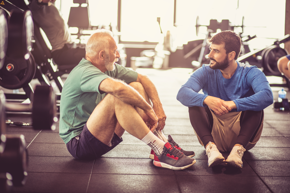 The report highlights a lack of fitness professionals who can provide tailored plans for older adults / SHUTTERSTOCK.COM