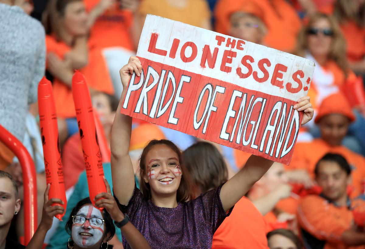 Fans witnessed England progress to the semi-final stage in Holland / Mike Egerton/PA Wire/PA Images