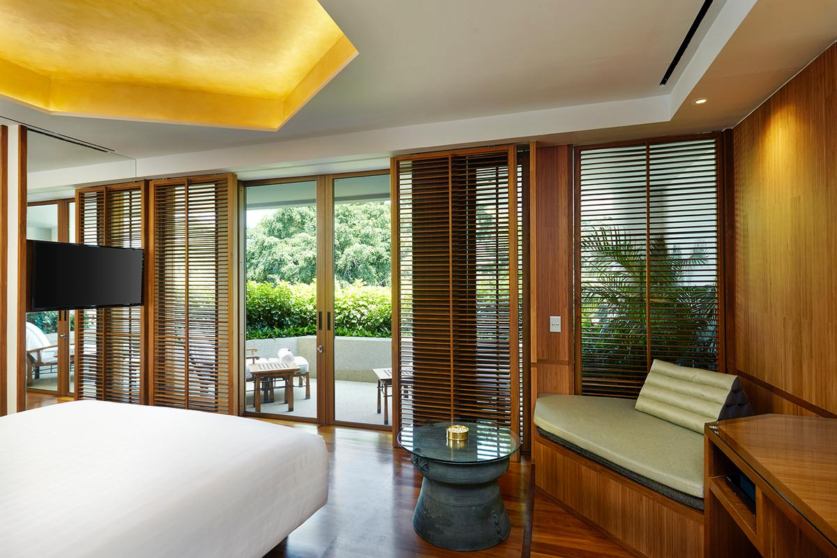 The new rooms are light, bright and spacious / Chiva-Som