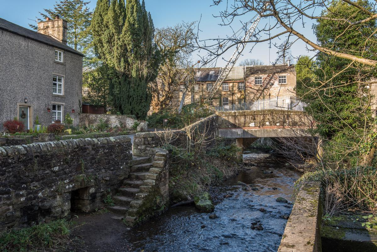 Historic Kirk Mill has potential for development as a boutique spa hotel  / Savills