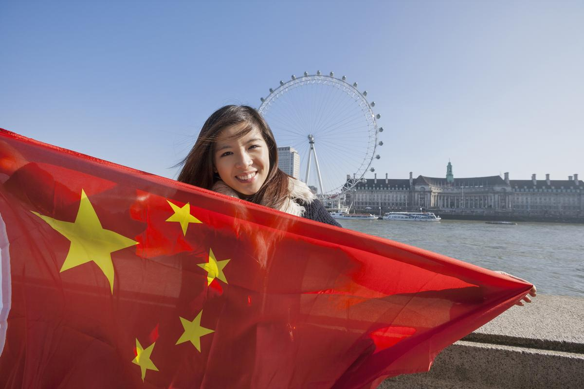 The number of Chinese visitors to the UK hit a record high in 2016