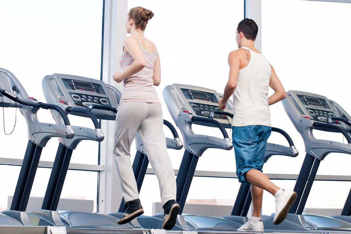 Outdoor activities, such as running, may have impacted the willingness of those to use leisure centres / Shutterstock