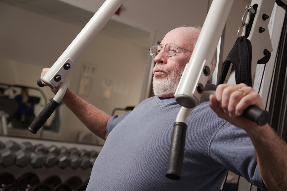 Older people need gyms and health clubs to offer them tailored programmes, according to Colin Milner / Shutterstock