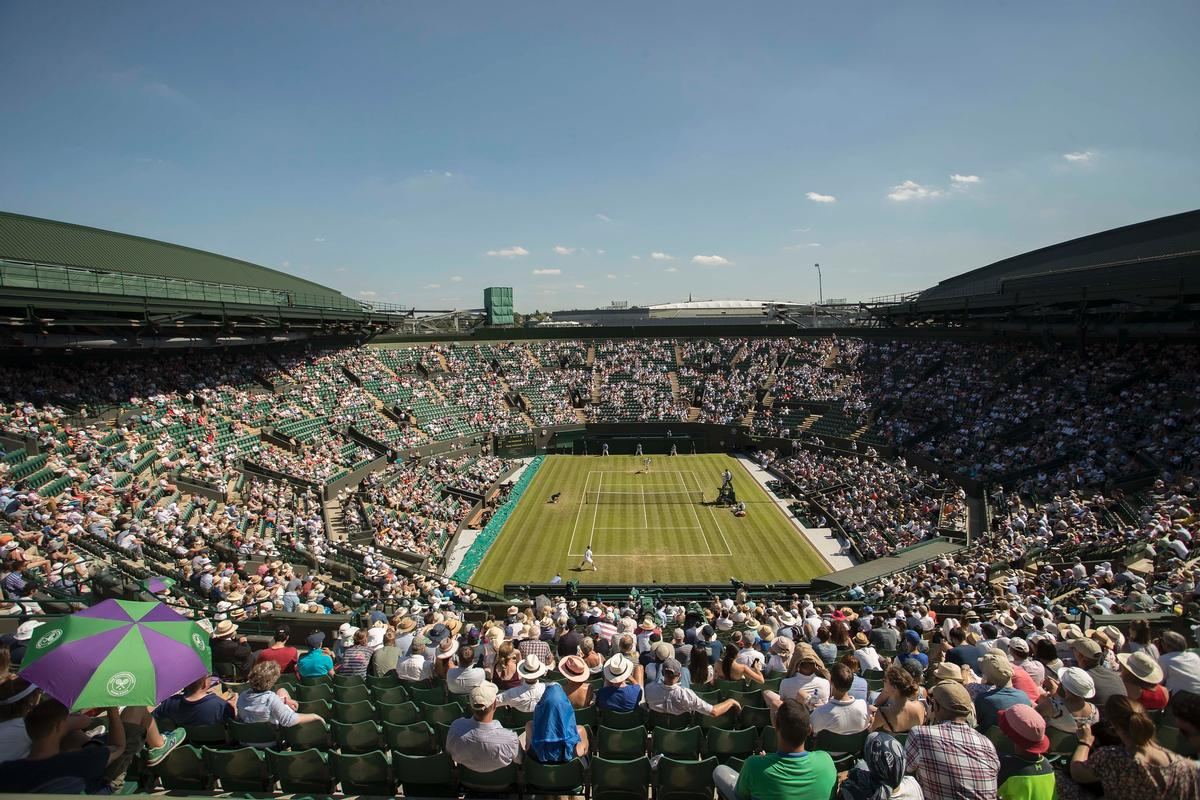 The retractable roof will be a £71m construction and is set to be completed in time for the 2019 championship.   / PAimages