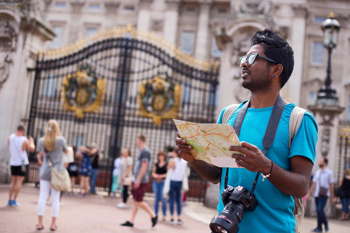 There were 3.5 million inbound visits to the UK in June, up 7 per cent on June 2016 / Shutterstock