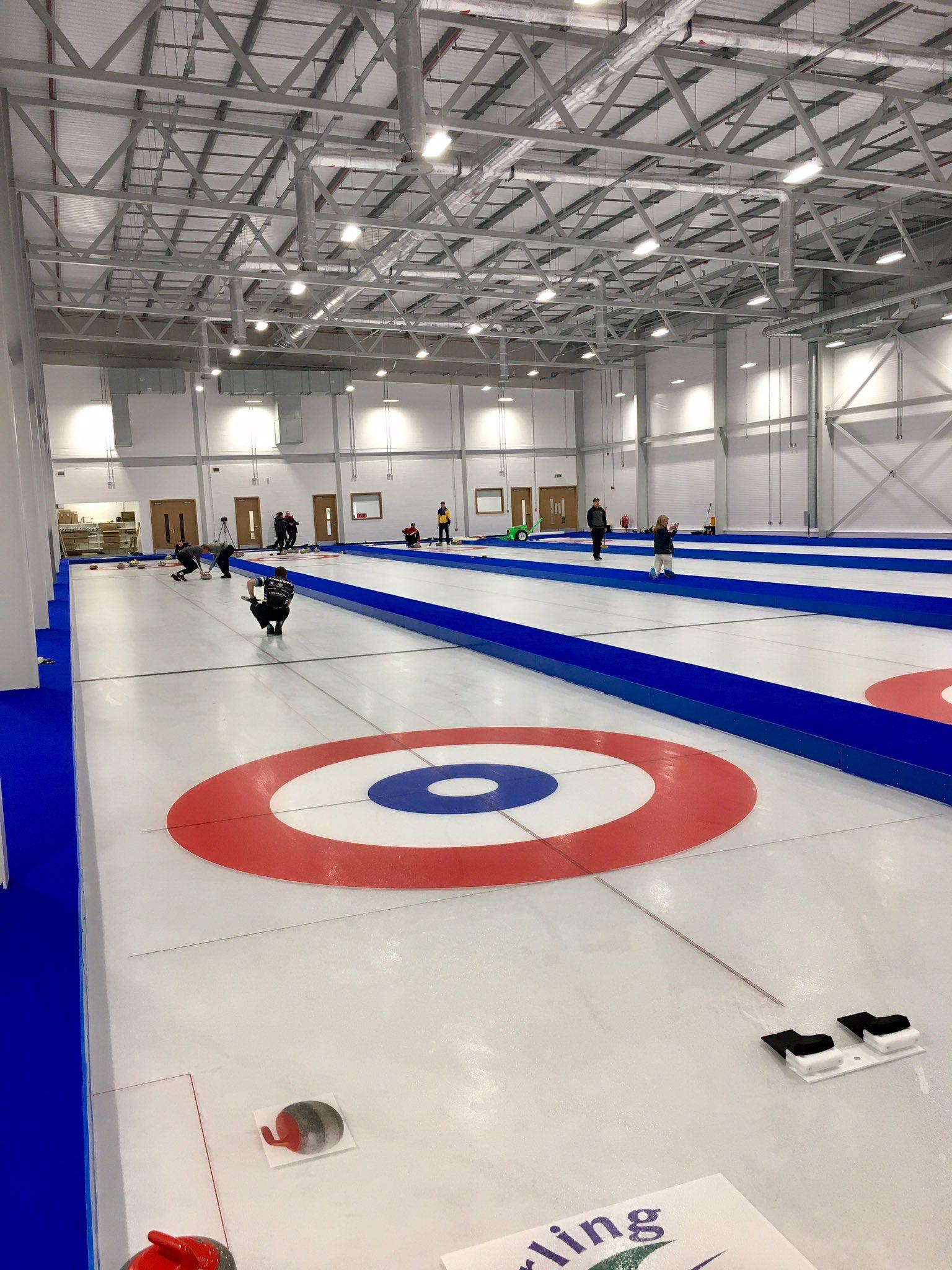 The £3.15m National Curling Academy today will the first dedicated year-round curling facility in Scotland / SportScotland