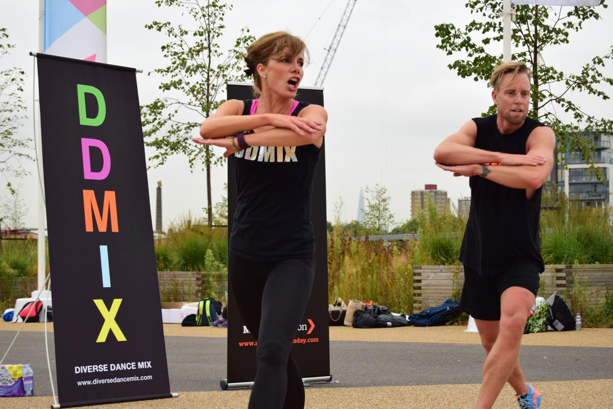 Darcey Bussell will lead a workout on National Fitness Day