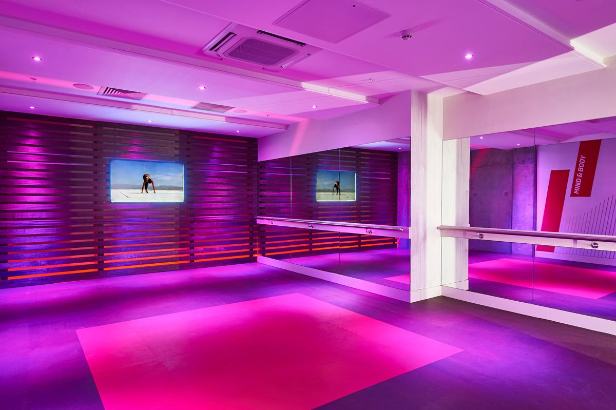 The mind and body studio will offer yoga and Pilates classes