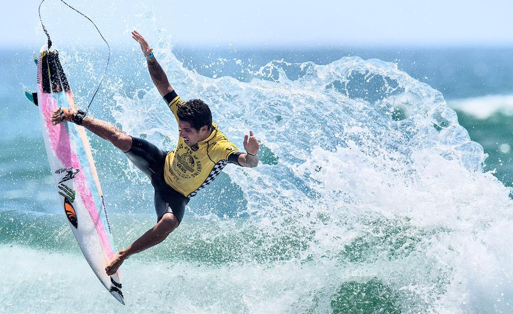 Surfing will take place in the Ocean or a wave pool / matt masin / press association images