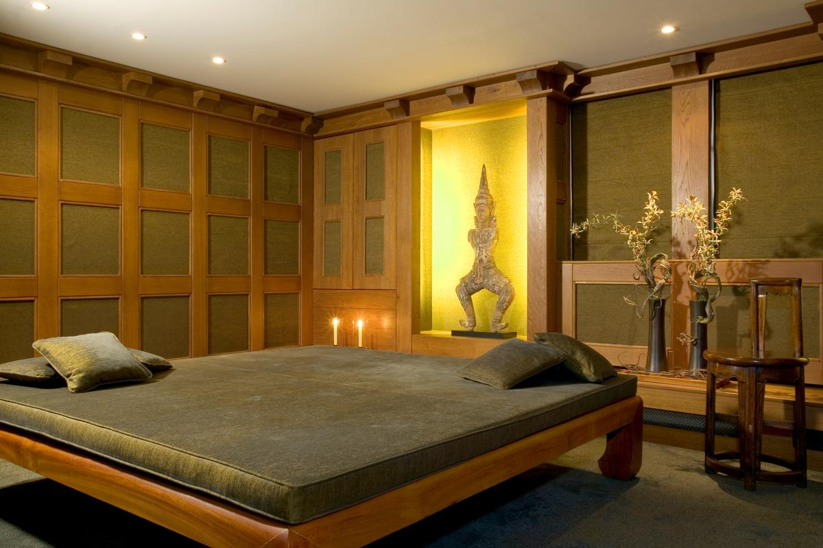 The spa will feature five large treatment rooms, including two double suites and a Thai massage suite (pictured) / Aman resorts Twitter