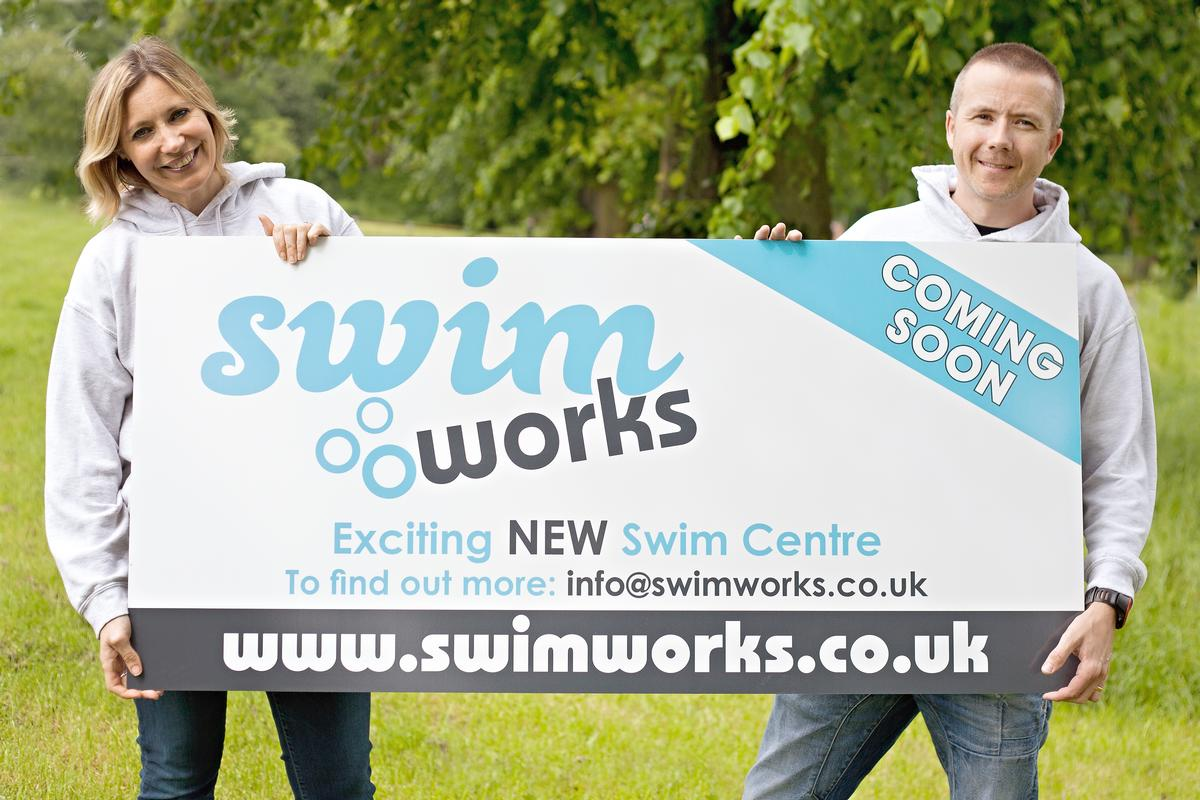 Joanne and Christian Wilson own Swim Works – a swim school centre for the whole family