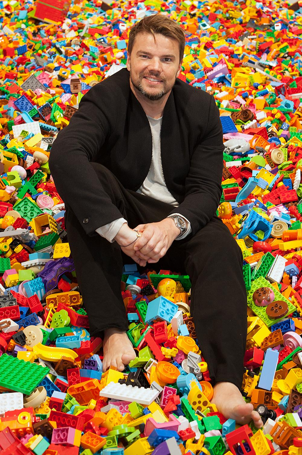 Ingels invited Lego super users to a workshop for feedback on BIG's Lego House designs / Photo: Paul McLaughlin