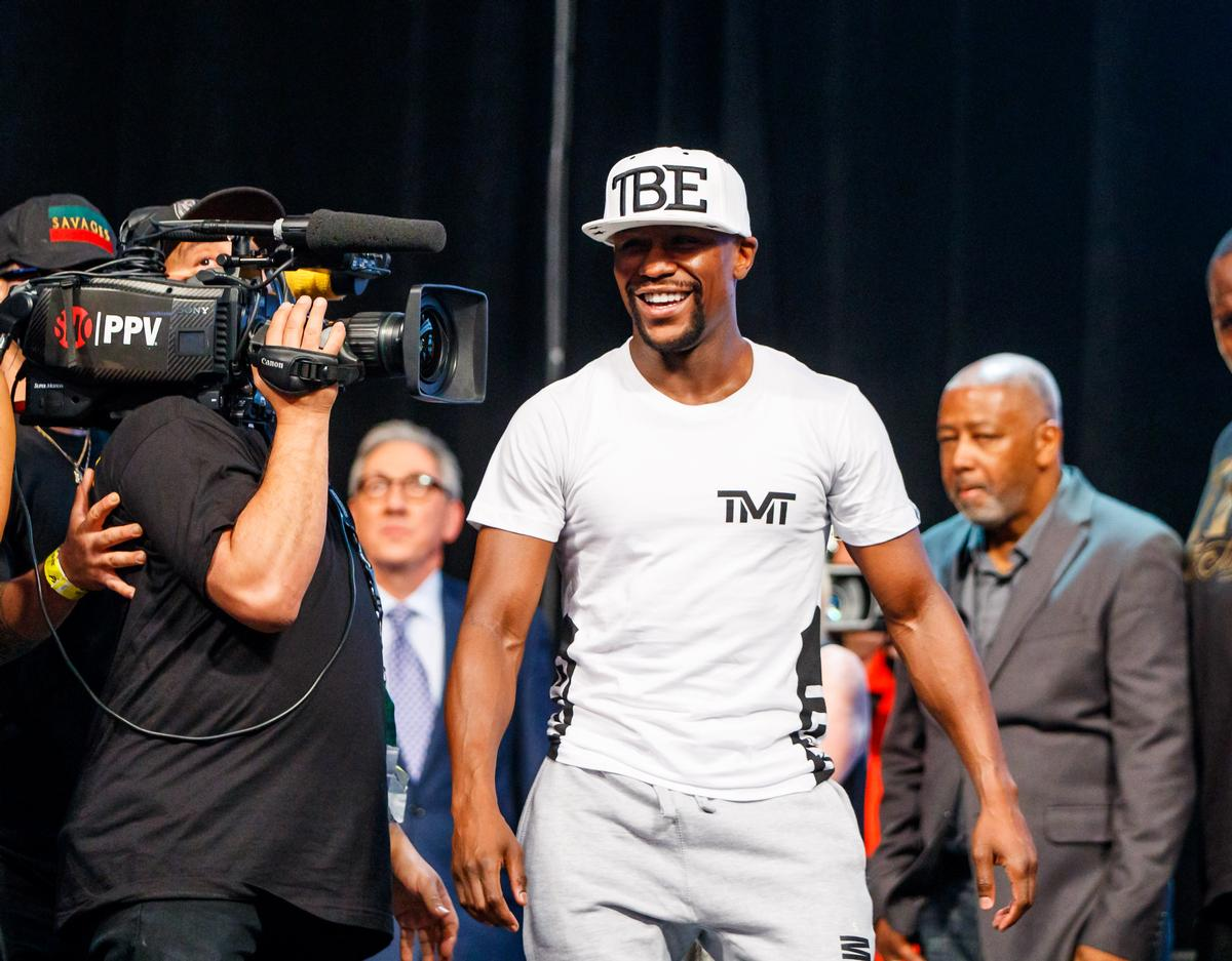 Mayweather will chair the new venture, which will also carry his name / USA TODAY/PA Images
