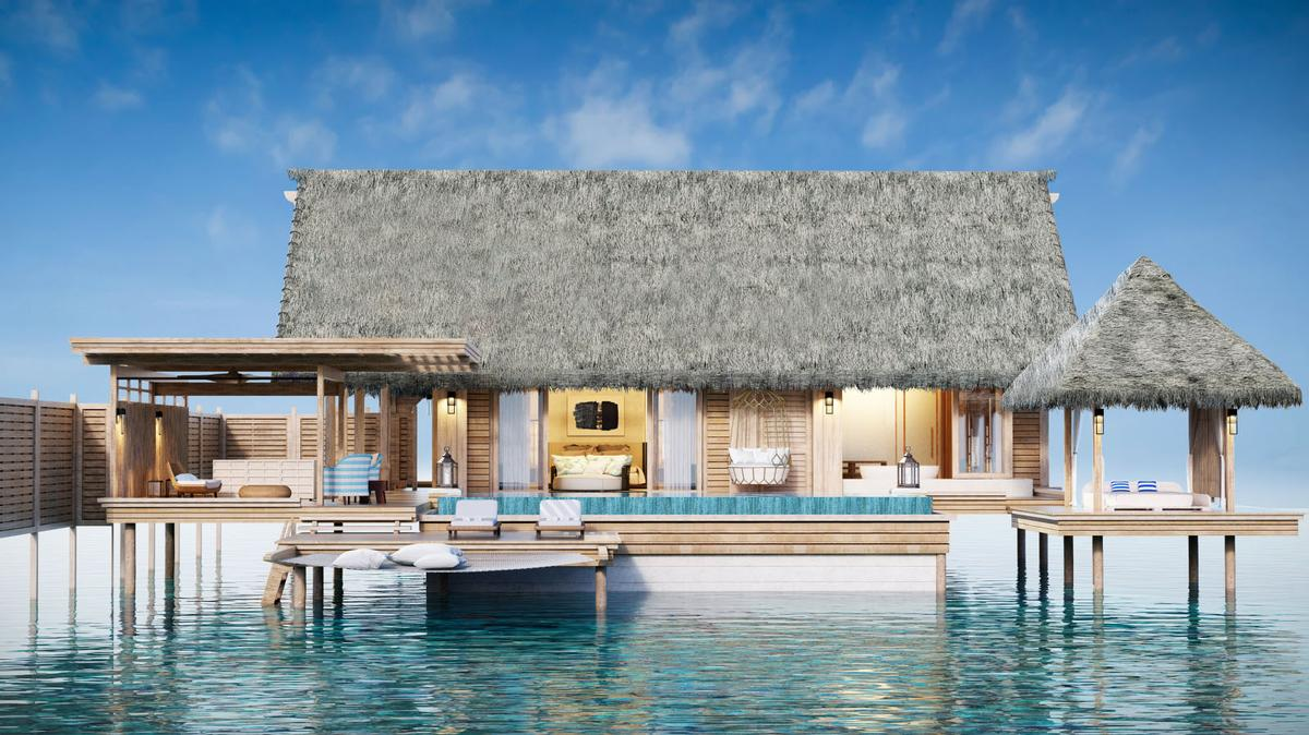 Spanning three islands on the South Male Atoll, the Waldorf Astoria Maldives will be the second hotel in the Maldives for Hilton