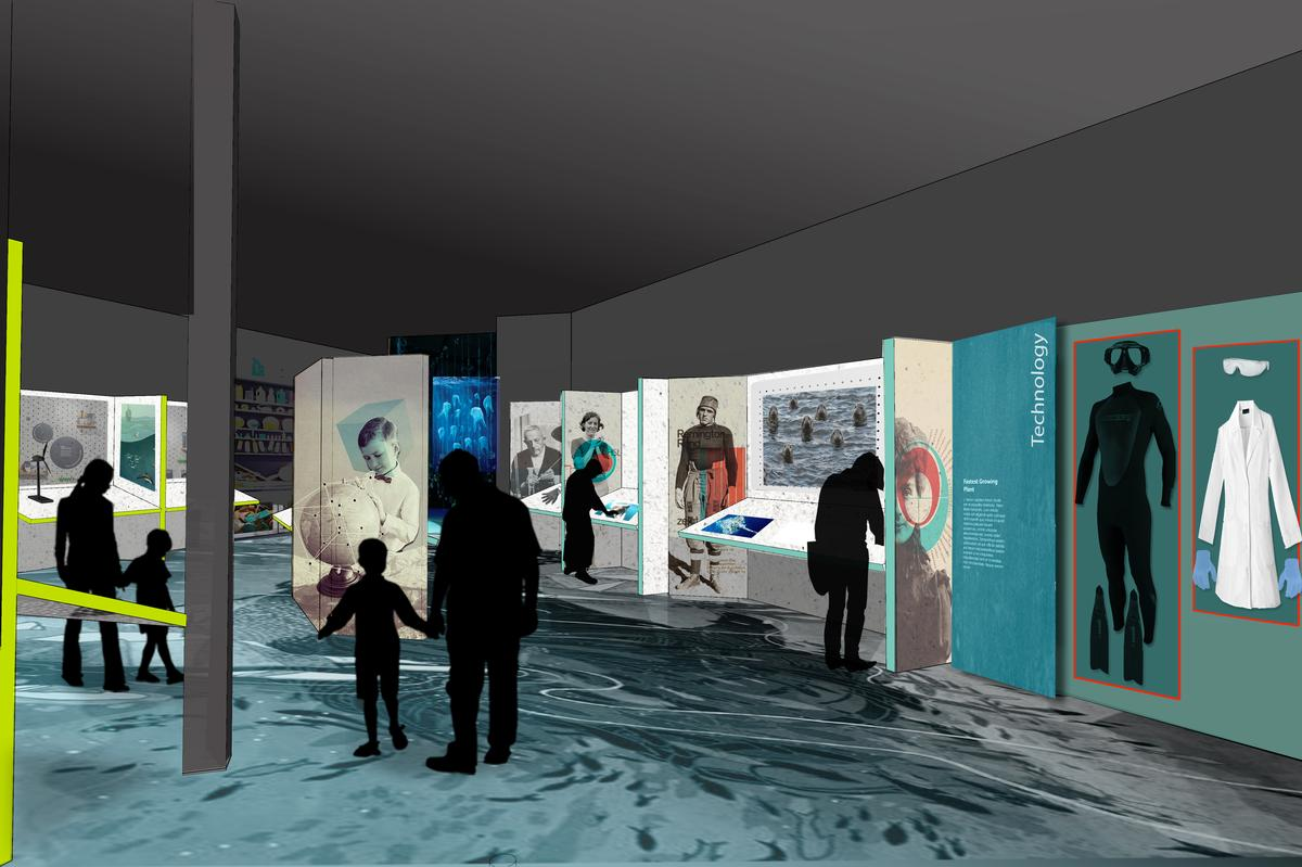The new national marine centre is planned to open in 2020, timed for Scotland's Year of Coasts and Waters.