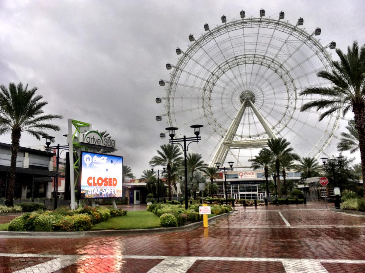 Orlando's I-Drive 360 will remain closed until further notice  / TNS/SIPA USA/PA Images