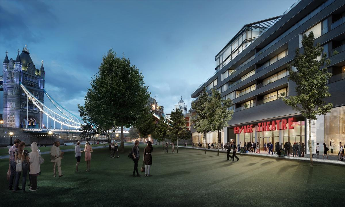 London's newest theatre anchors Tower Bridge leisure development