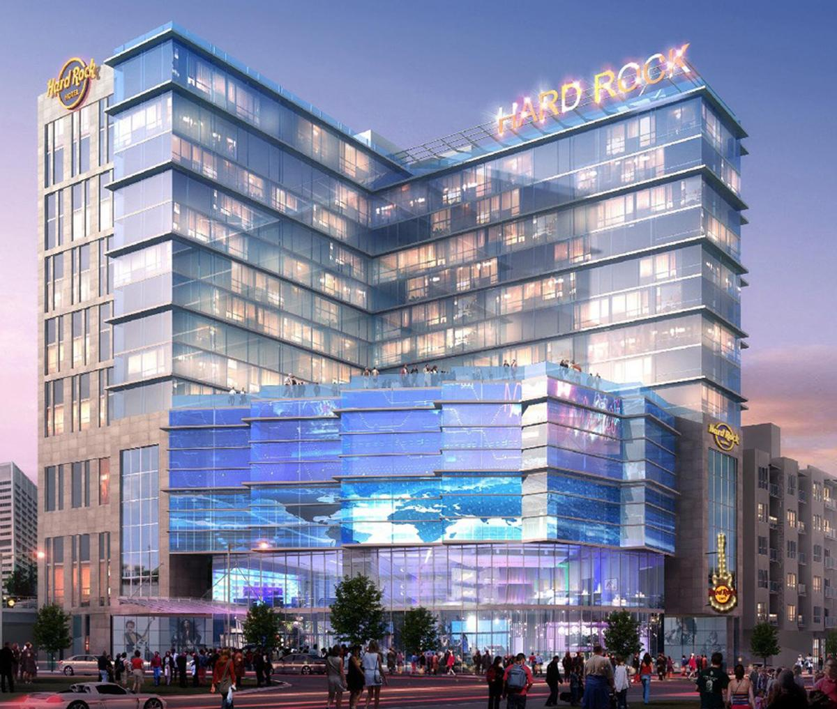 Designed by Atlanta-based Gensler, the Hard Rock Hotel Atlanta will feature a Rock Spa that will include the brand's signature music-infused spa treatments / Hard Rock Hotels