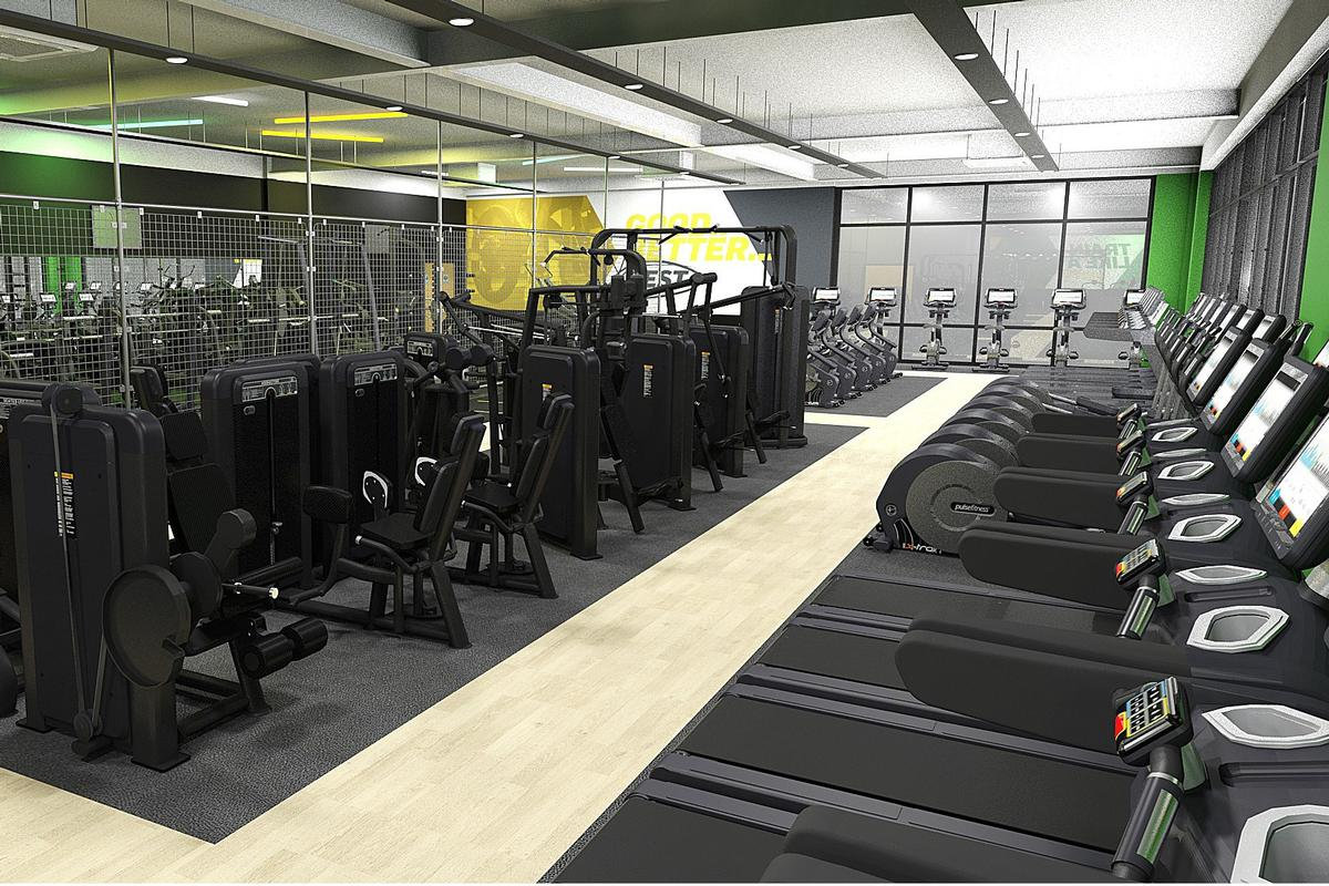 Pulse Soccer advised the FA on the park's 100-station gym and two group fitness studios