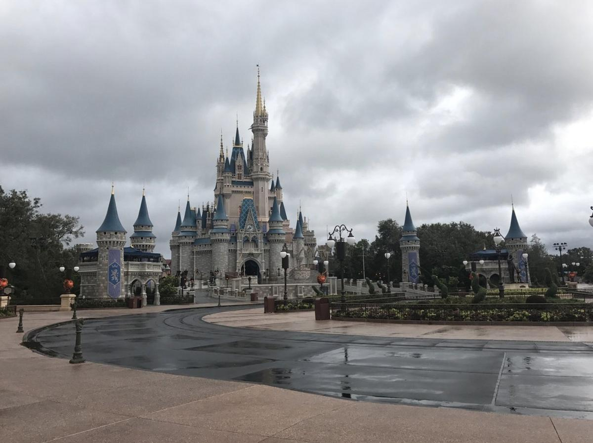 Disney's properties were left relatively unscathed following the hurricane / Twitter.com/@JEFF_EMT