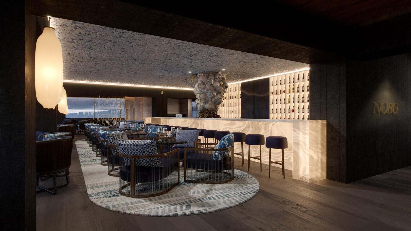 When it opens at the end of 218, the Nobu Hotel Barcelona will become Nobu Hospitality fourth European hotel and third Spanish property / Rockwell Group