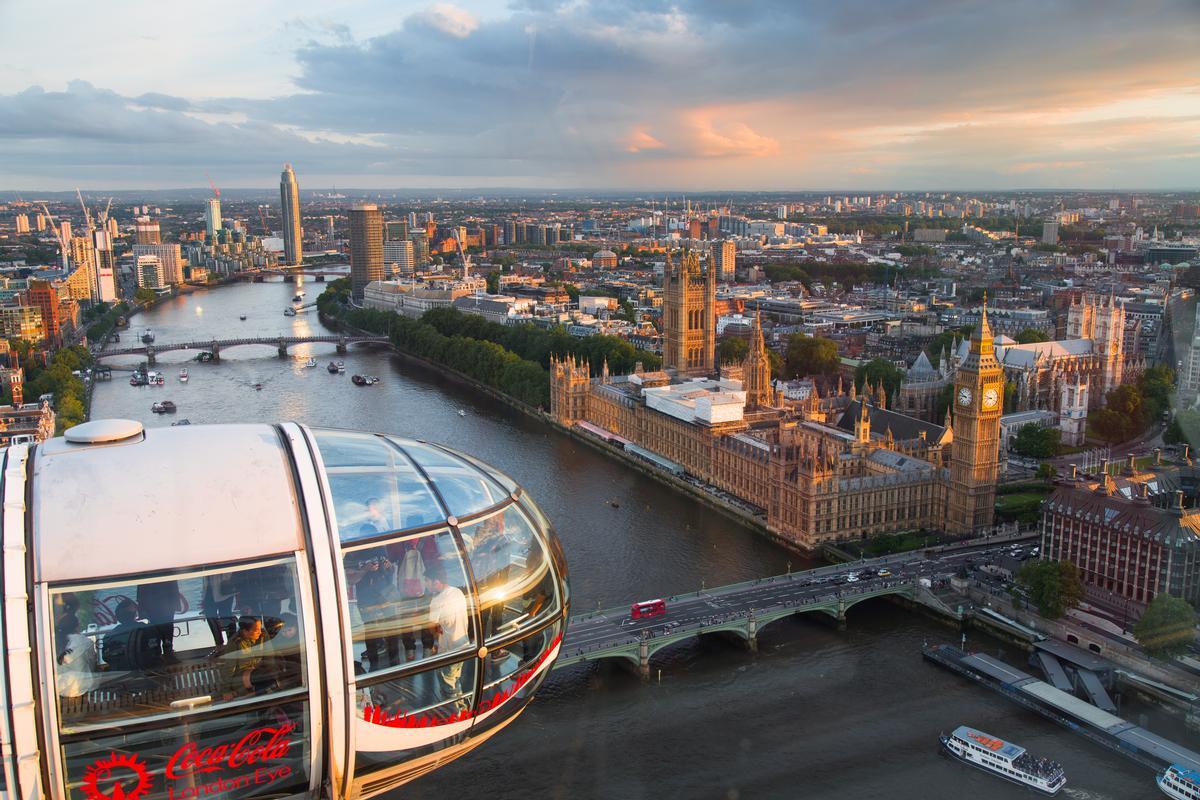 London is the UK's biggest tourist draw / Shutterstock.com