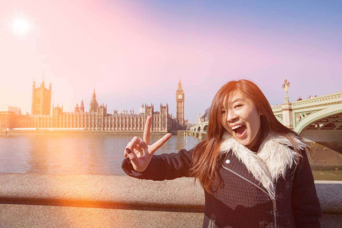 Britain's Chinese and US markets are particularly strong for inbound tourism / Shutterstock.com