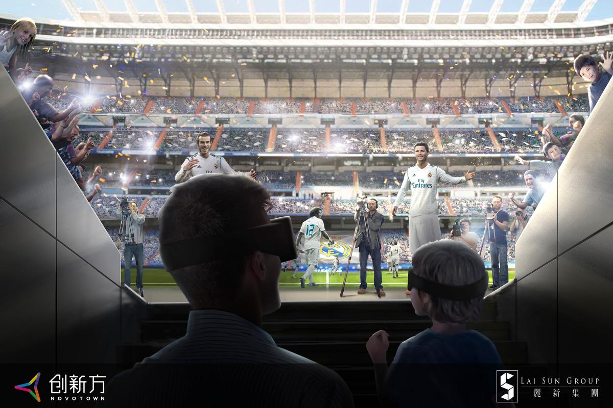 One of the experiences will take you through exclusive backstage tour of the Santiago Bernabéu Stadium by virtual reality / iP2 Entertainment