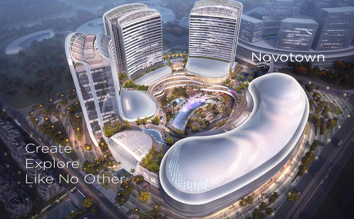 The wider Novotown project, situated at the heart of the Hengqin New Area in Zhuhai City, covers 1.4sq km / iP2 Entertainment