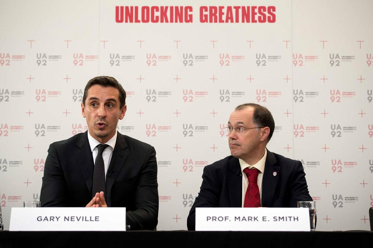 Gary Neville and Ryan Giggs: a striking partnership changing the face of Manchester
