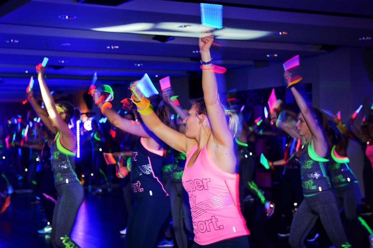 A Clubbercise class
