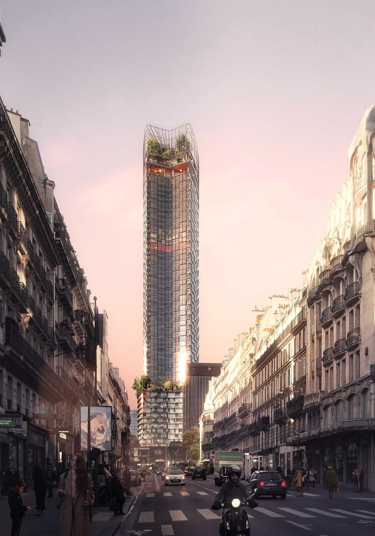 The project, expected to cost €300m, is expected to start in earnest in 2019. / Nouvelle AOM and Luxigon